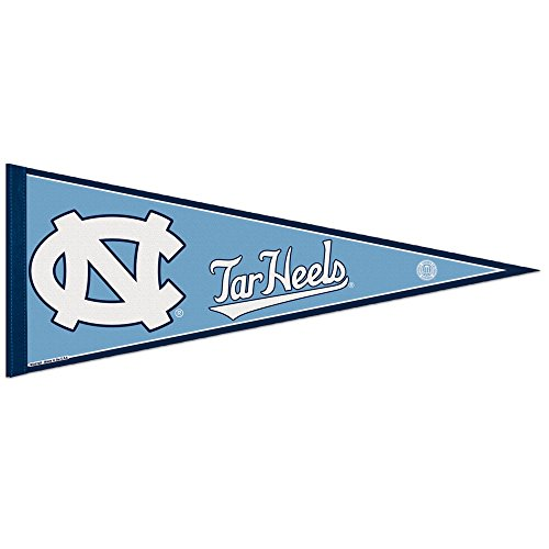 UNC Tar Heels Pennant and 12