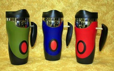 Usb Heated Mug - Heated Travel Mug with Outlet, USB, and Car Adapter