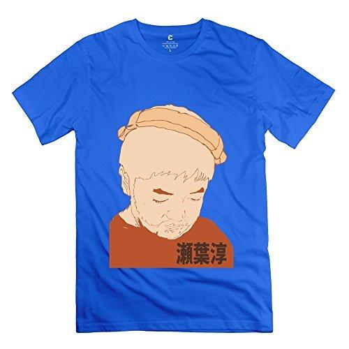 Popular Nujabes Japanese Name Men's Tshirt RoyalBlue Size L