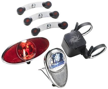 Reelight rl770 set illuminazione per bicicletta: faro anteriore e