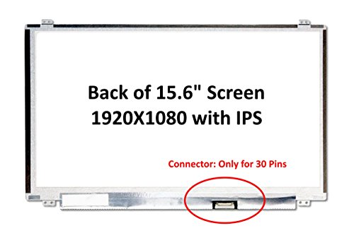 Generic New 15.6'' IPS FHD 1080P Laptop LED LCD Replacement Screen/Panel Compatible with HP Pavilion Power 15-CB024NF/15-CB024UR by Fullcom Tech (Image #4)