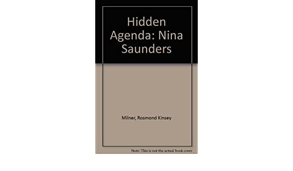 Amazon.com: Hidden Agenda: Nina Saunders (9780952294160 ...
