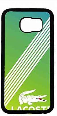Lacoste Teléfono Móvil Hulle, Samsung Galaxy S6 Lacoste Logo Teléfono Móvil Hulle, Luxury Brand Lacoste TPU Funda estuche para Samsung Galaxy S6, Lacoste TPU Funda estuche para Samsung Galaxy S6: Amazon.es: Electrónica