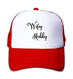 80bbae5f8767f Hubby Wifey Adjustable Sports Mesh Baseball Caps Trucker Cap Sun Hats at Amazon  Men s Clothing store