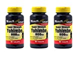 Cheap Super Strength Yohimbe 800 mg, 30 Tablets, Mason Natural (3 Pack)