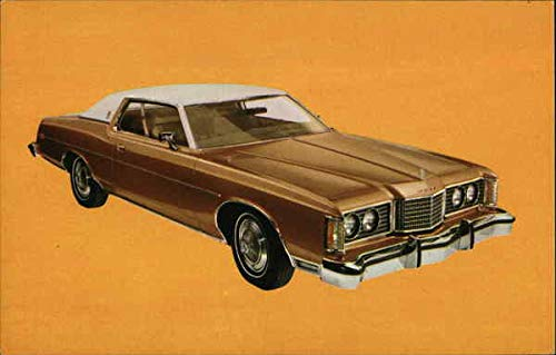 - 1974 Ford LTD Brougham Cars Original Vintage Postcard