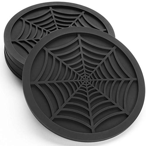 Silicone Coasters For Drinks - 6 Pack Unique