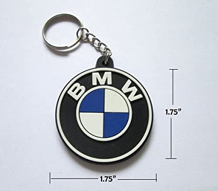 Amazon.com  BMW Rubber Keychain Keyring  Automotive 396c82ad9