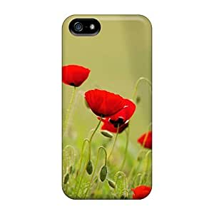 High Quality MeSusges A View Of Greek Poppies Skin Specially Designed For Iphone - 5/5s