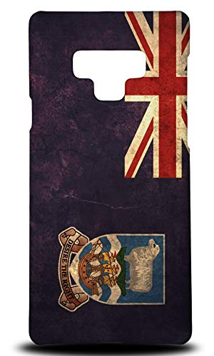 Falkland Islands Country Flag Hard Phone Case Cover for Samsung Galaxy ()