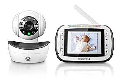 Motorola Digital Video Baby Monitor with 2.8 Inch Color Screen and Infrared Night Vision by Motorola