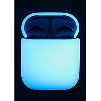 elago AirPods Silicone Case [Nightglow Blue] - [Extra Protection][Perfect Fit][Hassle Free] - for AirPods Case