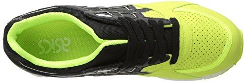 Yellow Shoe Running Safety Black Lyte Retro ASICS Gel Speed 0UXwa7