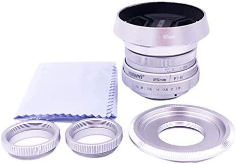 Homyl Mini Lente 25.8 F1.8 APS-C para Cámara Réflex para Sony NEX ...