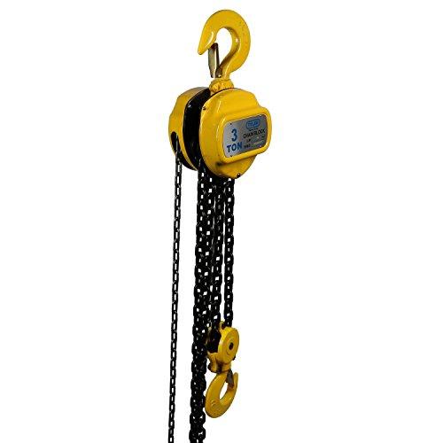 3 Ton X 20 Foot Lift, Tyler Tool Chain Hoist
