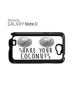 Shake Your Coconuts Mobile Cell Phone Case Samsung Note 2 White