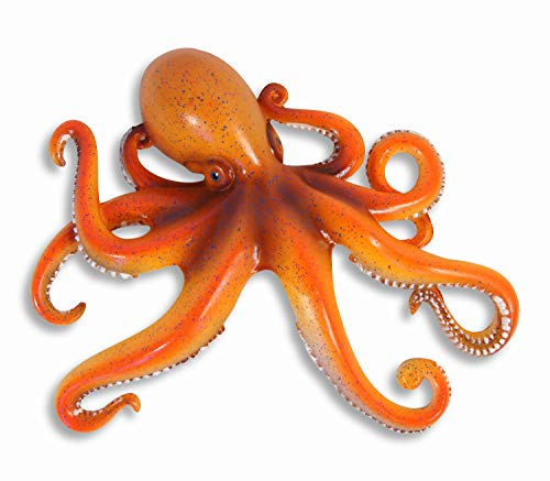 LX Handpainted Octopus Wall Mount Decor Plaque 8