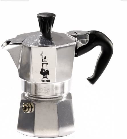 Bialetti Moka Express 9-taza cafetera estufa, jardín, césped, Mantenimiento: Amazon.es: Jardín
