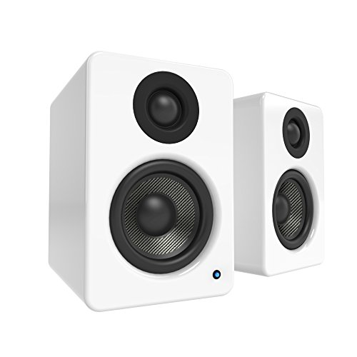 "Kanto YU2 3"" 2-Way Powered Desktop Speakers (Pair) Gloss White YU2GW"