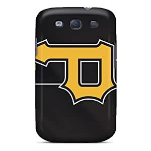 TimeaJoyce Samsung Galaxy S3 Shock Absorbent Hard Cell-phone Cases Allow Personal Design Stylish Pittsburgh Pirates Pattern [BgD775UloD]