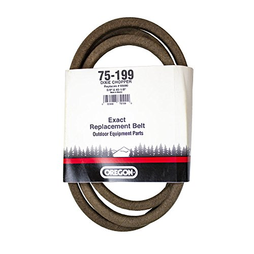 Oregon 75-199 Replacement Belt for Dixie Chopper 65080, 5/8-inch x 82-1/2-inch