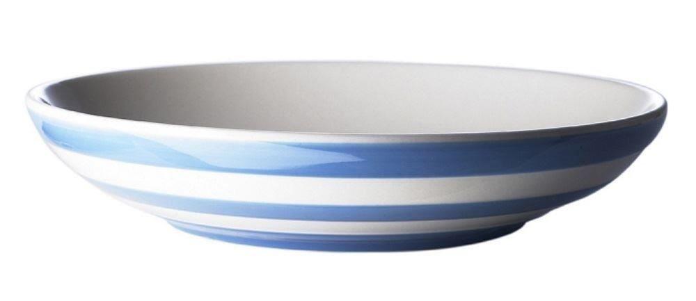 Cornishware Blue and White Stripe Pasta Serving Bowl