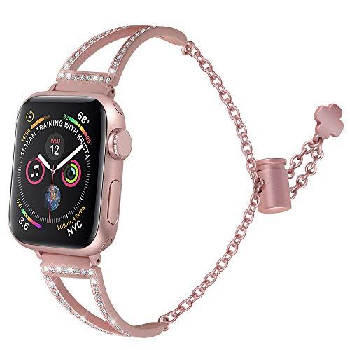 76dea949437bd hooroor Bracelet Compatible Apple Watch Band 38mm 40mm/42mm 44mm ...