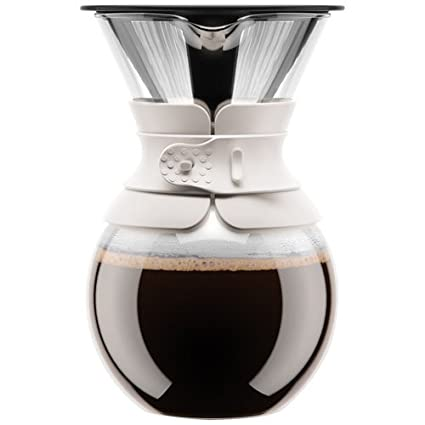Bodum K11592-01US Pour Over Set, 15 oz/17 oz, Black