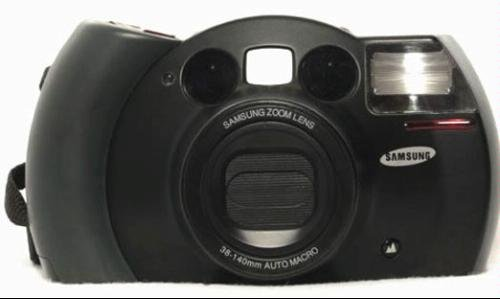 Samsung 35mm ECX1 Panorama Camera with Samsung Zoom Lens 38-140mm Auto Macro (Film Exposures 12)