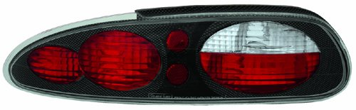 IPCW CWT-CE323CF Crystal Eyes Carbon Fiber Tail Lamp - Pair - Chevrolet Camaro Tail Lights Crystal