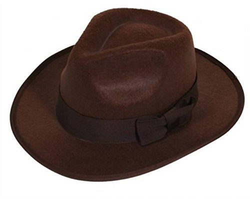 Blue Banana Alternative Fashion Explorer Hat Dressing Up Costume (Brown) -
