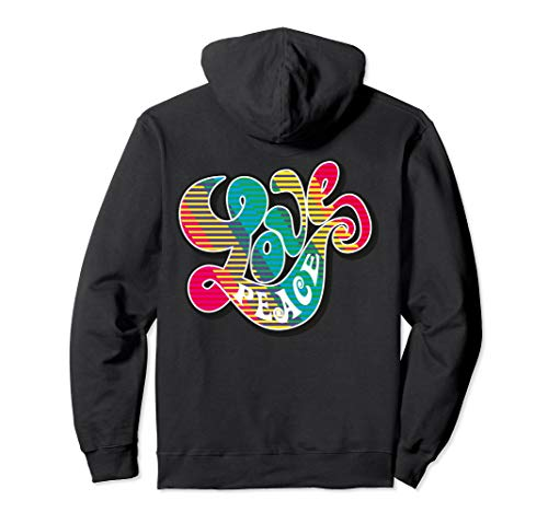 Peace Love Sign 60s 70s 80s Hippie Gifts NuL Retro T-Shirts