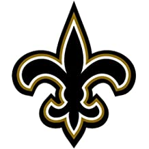 Fleur De Lis Shaped Sticker (new orleans saints decal)