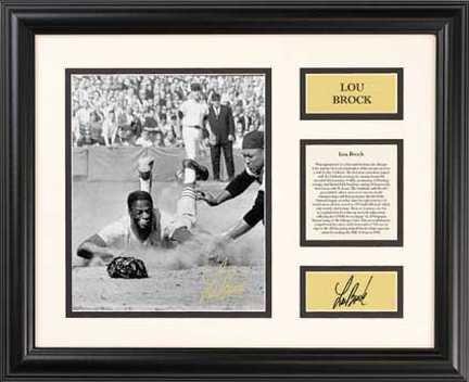 Lou Brock - Century Series (Memorabilia Photograph Tour Pro)