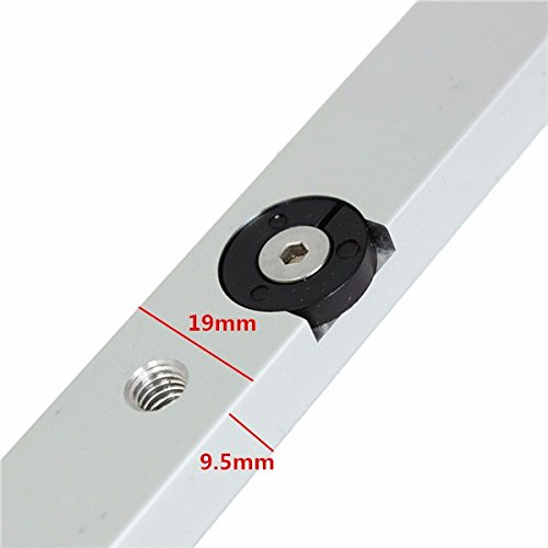 11.81in Miter Slider Table Saw Aluminum Alloy Miter Bar Miter Gauge Rod by Thyway (Image #5)