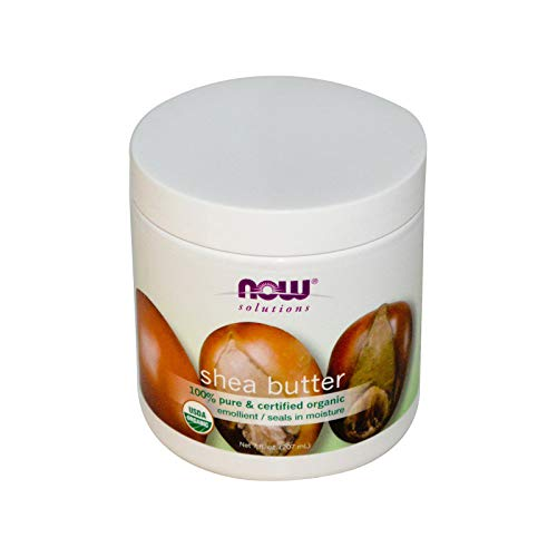 (NOW Solutions Organic Shea Butter,)