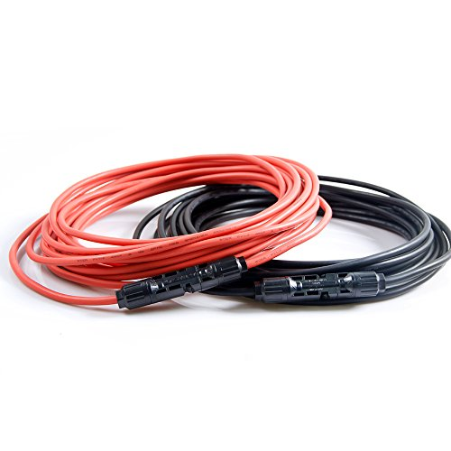 Kingsolar™ 33ft Mc4 Wire Kit Used for Connect Controller and (Anode Wire)