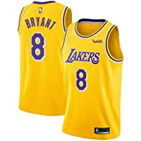 kuomai Los Angeles Lakers Kobe Bryant #8 Basketball Summer Short-Sleeved Crew Neck. Classic Series has Been withdrawn