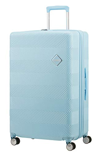 American Tourister Hand Luggage, Blue (Soft Mint), 77 centimeters