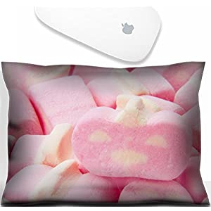 Luxlady Mouse Wrist Rest Office Decor Wrist Supporter Pillow colourful cotton candy.IMAGE: 27629301