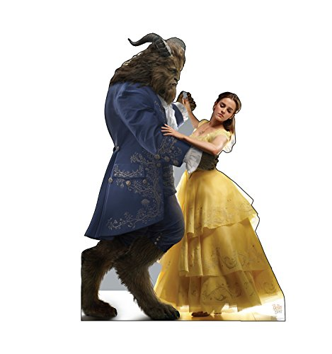 Advanced Graphics Belle & Beast Life Size Cardboard Cutout Standup - Disney's Beauty and The Beast (2017 Film) -