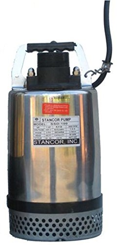 STANCOR-SSD-1004603-Avenger-Series-Submersible-Dewatering-Center-Line-Discharge-Pump-Model-460V-3-Phase-1-Hp-2-Discharge-50-Cable