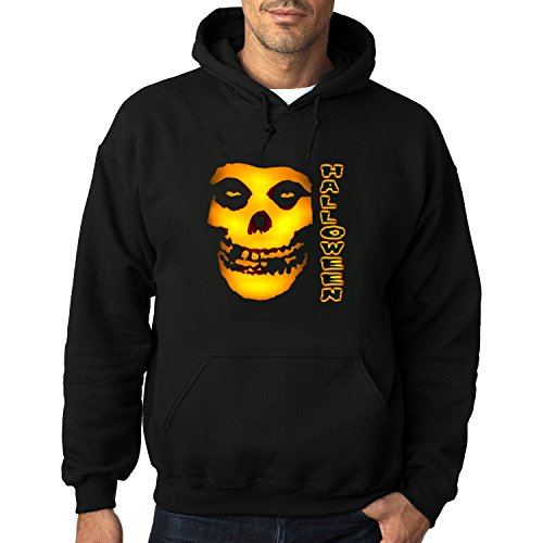 Men's Misfits Halloween Heavy Blend Adult Hoodie Sweatshirts M Black cool]()