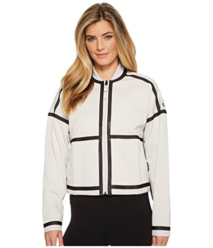 Jacket Adidas Reversible (adidas Women's ZNE Singled Out Reversible Bomber Jacket chalk Pearl Medium)