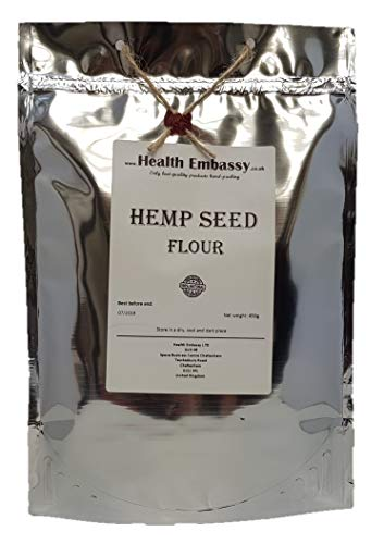 Hemp Seed Flour 450g - Health Embassy - 100% Natural (450g)