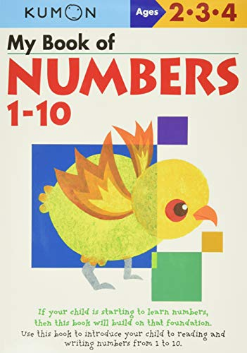 My Book of Numbers 1-10 (Kumon Workbooks)