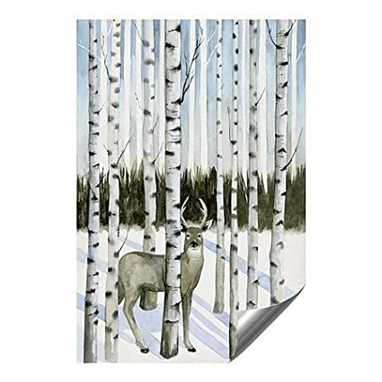 Grace PoppDeer in Snowfall I Outdoor Contour Wall Decor 5-Pack | 24x36 CGSignLab
