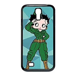 Hexvl Unique Design Cases Samsung Galaxy S4 I9500 Cell Phone Case Betty Boop Printed Cover Protector