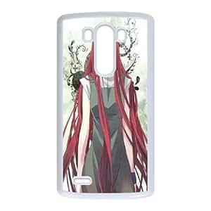 LG G3 Cell Phone Case White Naruto Kushina Knluc