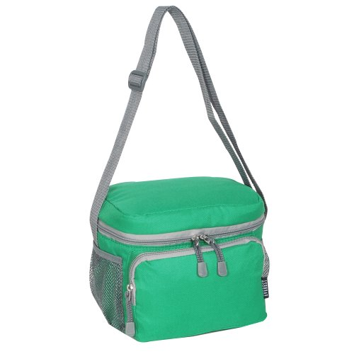 Emerald Green Bag - Everest Cooler Lunch Bag, Emerald Green, One Size